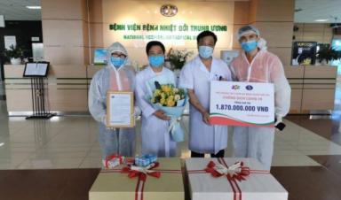 Doanh nghiệp Việt duy nhất đạt giải thưởng ứng phó Covid-19 hiệu quả